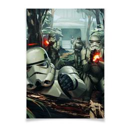 "Плакат A3(29.7x42) ""Штурмовики"" - star wars, звездные войны, стар варс, stormtroopers"