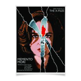 """Плакат A3(29.7x42) """"Секретные Материалы (X-Files)"""" - дана скалли, секретные материалы"""