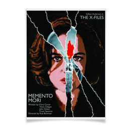"Плакат A3(29.7x42) ""Секретные Материалы (X-Files)"" - секретные материалы, дана скалли"