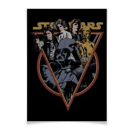 "Плакат A3(29.7x42) ""Star Wars"" - star wars, звездные войны, дарт вейдер, хан соло"