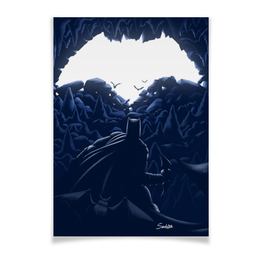 "Плакат A3(29.7x42) ""Batman "" - batman, dc, бэтмэн, темный рыцарь, готэм"