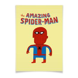 """Плакат A3(29.7x42) """"Человек-паук"""" - комиксы, супергерои, spider man, человек паук, прикольные"""