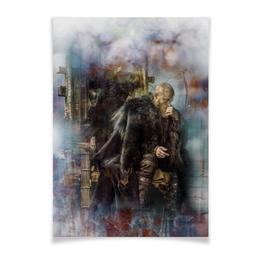 """Плакат A3(29.7x42) """"Vanity"""" - арт, викинги, рагнар, рагнарлодброк"""