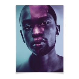 """Плакат A3(29.7x42) """"Лунный свет"""" - жизнь, кино, драма, оскар, moonlight"""