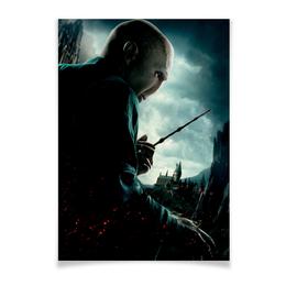 "Плакат A3(29.7x42) ""Волан-де-Морт"" - harry potter, гарри поттер, хогвартс, волшебник, рэдклифф"