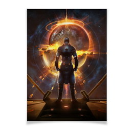 "Плакат A3(29.7x42) ""Starpoint Gemini Warlords"" - игра, планета, космос, взрыв, компьютерная игра"