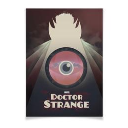 "Плакат A3(29.7x42) ""Доктор Стрэндж"" - comics, комиксы, марвел, doctor strange, dr strange"