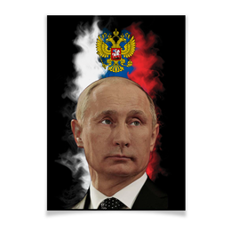 "Плакат A3(29.7x42) ""Путин Патриот Страны"" - россия, russia, путин, президент, putin"