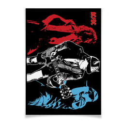 "Плакат A3(29.7x42) ""AC/DC "" - heavy metal, hard rock, ac dc, ac-dc, хэви метал"