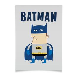 "Плакат A3(29.7x42) ""Бэтмен"" - прикольные, комиксы, batman, супергерои, бэтмен"
