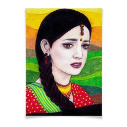 """Плакат A3(29.7x42) """"Как назвать эту любовь? - Кхуши"""" - сериал, индия, iss pyaar ko kya naam doon, кхуши, как назвать эту любовь"""