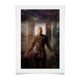 """Плакат A3(29.7x42) """"Вальгалла"""" - викинги, вальгалла, рагнар"""
