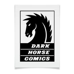 "Плакат A3(29.7x42) ""Dark Horse Comics"" - комиксы, dark horse comics, тёмная лошадка"