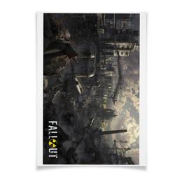 """Плакат A3(29.7x42) """"Fallout игра"""" - арт, игра, фантастика, fallout, фаллаут"""