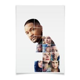 """Плакат A3(29.7x42) """"Призрачная красота"""" - уилл смит, will smith, кино, любовь, жизнь"""