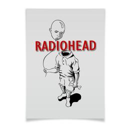 """Плакат A3(29.7x42) """"Radiohead"""" - музыка, рок, группы, radiohead"""