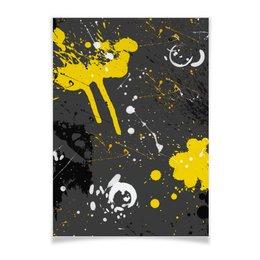 """Плакат A3(29.7x42) """"Плакат абстракция"""" - абстракция, жидкий акрил, картина абстракция, плакат абстракция"""