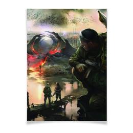 "Плакат A3(29.7x42) ""S.T.A.L.K.E.R."" - игры, сталкер, stalker, фанату, денис гесс"