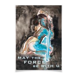 "Плакат A3(29.7x42) ""Джедай "" - звездные войны, star wars, джедай, jedi, дарт вейдер"