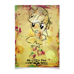 "Плакат A3(29.7x42) ""My Little Pony Applejack Poster"" - mlp, my little pony, applejack, difylshop"