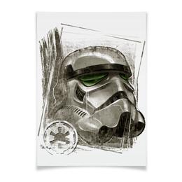 """Плакат A3(29.7x42) """"Штурмовик"""" - star wars, звездные войны, империя, штурмовик"""
