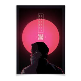 "Плакат A3(29.7x42) ""Бегущий по лезвию / Blade Runner 2049"" - неон, райан гослинг, бегущий по лезвию, blade runner, гослинг"