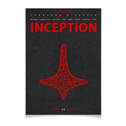 """Плакат A3(29.7x42) """"Начало / Inception"""" - начало, леонардо дикаприо, дикаприо, inception, нолан"""