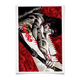 "Плакат A3(29.7x42) ""Rambo"" - кино, рэмбо, сильвестр сталлоне, rambo, sylvester stallone"