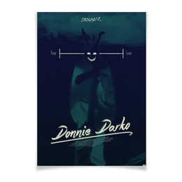 "Плакат A3(29.7x42) ""Донни Дарко / Donnie Darko"" - кино, мистика, топор, donnie darko, донни дарко"
