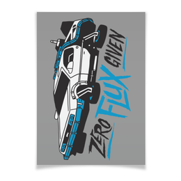"Плакат A3(29.7x42) ""Back to the Future / Назад в Будущее"" - арт, bttf, назад в будущее, back to the future"