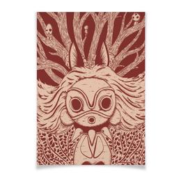 """Плакат A3(29.7x42) """"Принцесса Мононоке """" - арт, аниме, мононоке"""