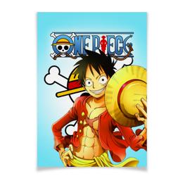 "Плакат A3(29.7x42) ""One Piece"" - one piece, ван пис, аниме, манга"