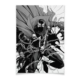 "Плакат A3(29.7x42) ""Spawn"" - comics, комиксы, спаун, image comics"