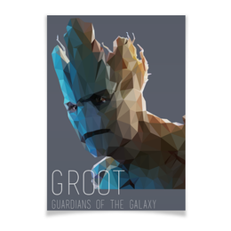 "Плакат A3(29.7x42) ""Грут (Groot)"" - комиксы, марвел, ракета, стражи галактики, guardians of the galaxy"