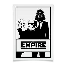 "Плакат 42x29.7(A3) ""The Empire. Звёздные войны"" - star wars, darth vader, звездные войны, дарт вейдер, штурмовик"