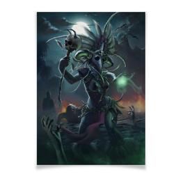 """Плакат A3(29.7x42) """"Witch doctor"""" - blizzard, близзард, диабло 3, diablo iii, вич доктор"""