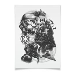 """Плакат A3(29.7x42) """"Звездные Войны"""" - star wars, звездные войны, дарт вейдер, штурмовик"""