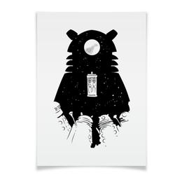"""Плакат A3(29.7x42) """"Доктор Кто"""" - doctor who, тардис, далеки, time lord, докто кто"""