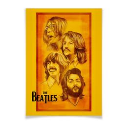 "Плакат A3(29.7x42) ""The Beatles"" - beatles, the beatles, битлз, рок музыка, рок группа"