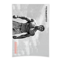 "Плакат A3(29.7x42) ""Arnold Schwarzenegger"" - кино, arnold schwarzenegger, терминатор, terminator, арнольд шварцнегер"