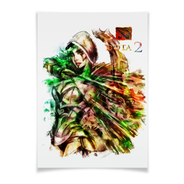 "Плакат 42x29.7(A3) ""дота 2"" - арт, игры, дота 2"