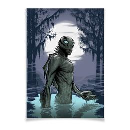 "Плакат A3(29.7x42) ""Abe sapien"" - комиксы, хеллбой, dark horse comics, abe, эйб"