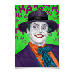 "Плакат A3(29.7x42) ""Джокер"" - joker, комиксы, бэтмен, dc comics, джек николсон"
