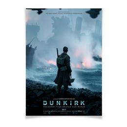 "Плакат A3(29.7x42) ""Дюнкерк / Dunkirk"" - кино, постер, нолан, дюнкерк, dunkirk"