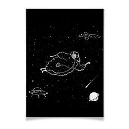 """Плакат A3(29.7x42) """"starlamb"""" - звезды, stars, рисунок, картина, сказка"""