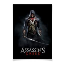 """Плакат A3(29.7x42) """"Assassins Creed (Unity Arno)"""" - игра, assassins creed, воин, unity arno, арно"""