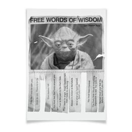 "Плакат A3(29.7x42) ""Мастер Йода"" - star wars, звездные войны, йода"