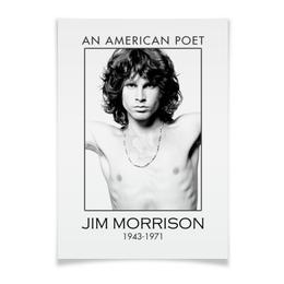 """Плакат A3(29.7x42) """"Джим Моррисон"""" - музыка, jim morrison, the doors, джим моррисон, doors"""