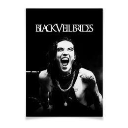 """Плакат A3(29.7x42) """"Black Veil Brides"""" - black veil brides, музыка, группы, рок, метал"""