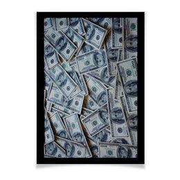 """Плакат A3(29.7x42) """"Деньги"""" - америка, деньги, свобода, доллар, хайп"""